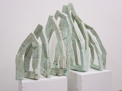 Hirofumi Maeshiba, 'Stripe', 2004