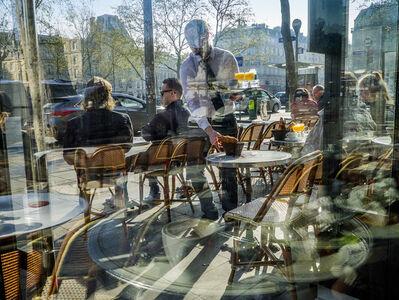 """William Albert Allard, '""""Cafe Republique"""" Place de la Repubique, Paris, 2015', 2015"""