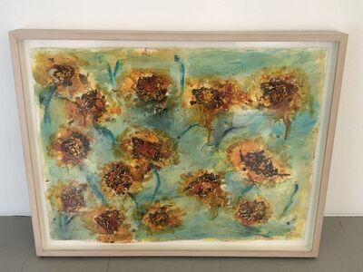 Joan Snyder, 'Sunflowers', 2000