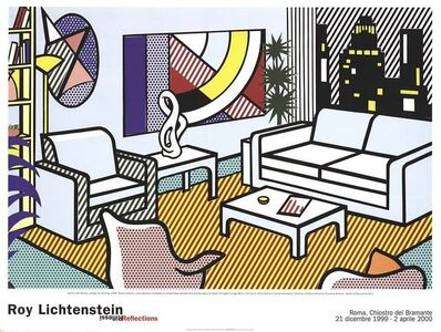 Roy Lichtenstein, 'Interior with Skyline', 2000