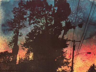 Gillian Pokalo, 'Trees and the Setting Sun', ca. 2016