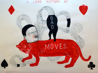 Fred Stonehouse, 'Bad Moves', 2017