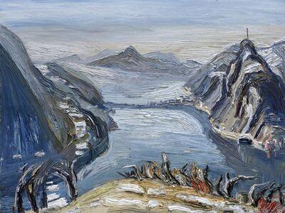 Christopher Lehmpfuhl, 'See In Der Morgensonne', 2015