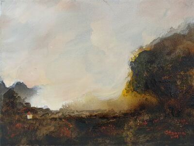 Shyama Nadimpalli, ' Serenity in the Mountains- The Tree', 2019