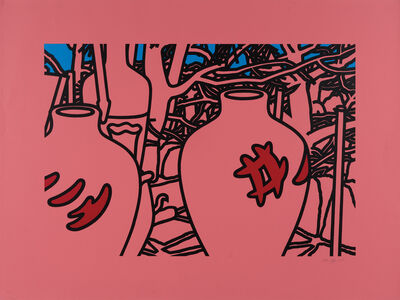 Patrick Caulfield, 'Signature Pots', 1975
