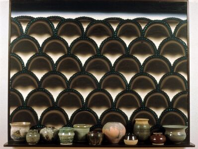 Roger Brown, 'Virtual Still Life #14: Pots and Piedmont at Piru', 1995