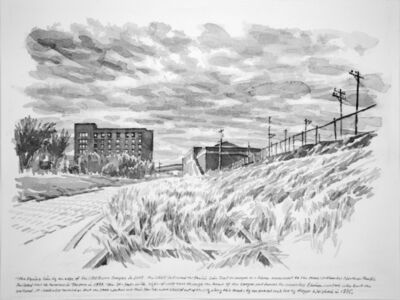 Zhi Lin, 'The Prairie Line by the Edge of UWT', 2017