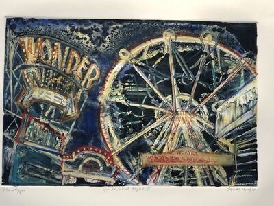 "Lizbeth Mitty, '""Wonder Wheel Night III""', 2005"