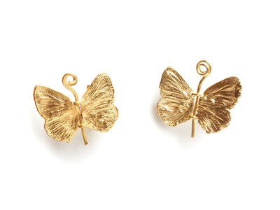 Claude Lalanne, 'Petit Papillon Earrings', 2016