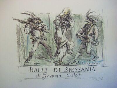 Hetty Krist, 'Balli di Sfessania di Jacomo Callot', 2005