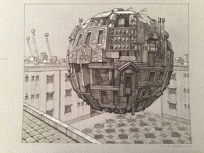 Masakatsu Sashie, 'Urban Pocket', 2017