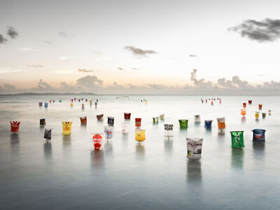 Dirk Krüll, 'Plastic Army: Invasion Sea,', 2018