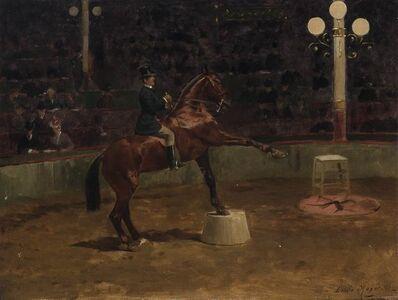 Emile Meyer, 'Horse Show', 1891