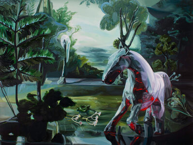 Emma Webster, 'Pale Horse', 2019
