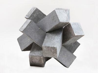 Cody Hoyt, '6 Piece Diagonal Burr', 2016