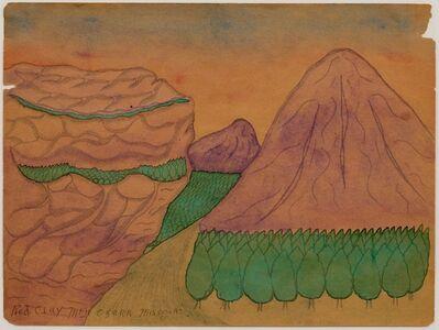 Joseph Yoakum, 'Red Clay Mountain Ozark'