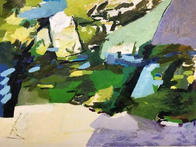 Nicole Maynard-Sahar, 'Purple Triangle', 2019