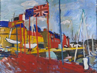 Jason Berger, 'Flags, St. Valerie', ca. 2004
