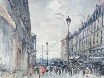 Georges Rose, 'La rue de la paix'
