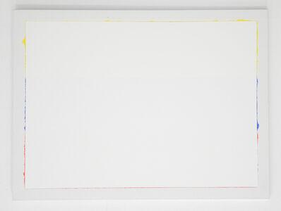 Antonio Lazo, 'Bandera blanca tricolor V', 2018