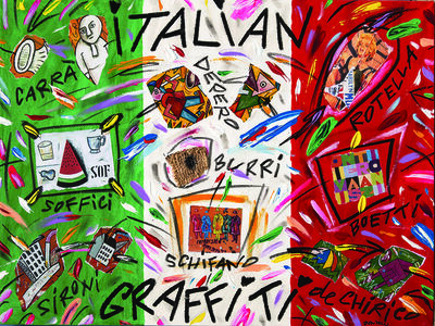 Bruno Donzelli, 'Italian Graffiti'