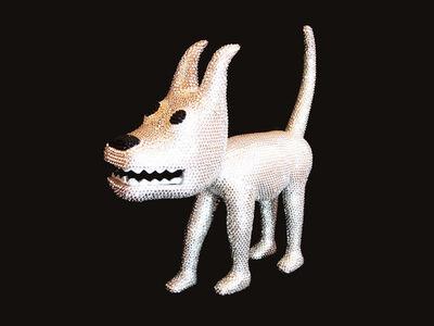 "Phil Hayes, '""Dog 20"", with Swarovski Cristals', 2010"