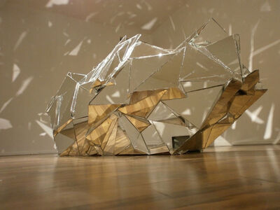 Robert Kananaj, 'Mirror Sculpture (Womb)', 2011