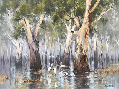 Ted Lewis, 'Flood Waters - Barmah Forest'