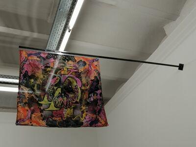 Koi Persyn, 'Janus Flags (4) Gnothi Seauton & Two Boys', 2020