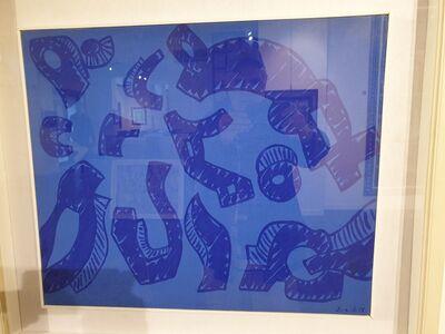 Carla Accardi, 'Azzurroblu', 1998