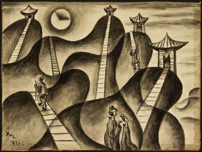 Xul Solar, 'Cuatro pagodas', 1951