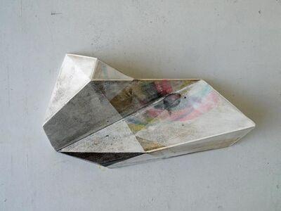 Irena Eden & Stijn Lernout, 'o.T. (365.235.70.15), acrylic & pencil on hdf, 23,5 x 36,5 x 7 cm', 2015