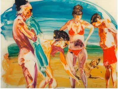 Eric Fischl, 'On the Beach - 2', 2014