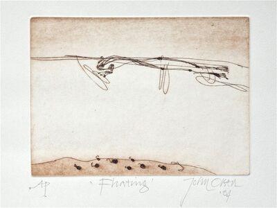John Olsen (b.1928), 'Floating', 2004
