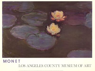 Claude Monet, 'Waterlilies', 1981