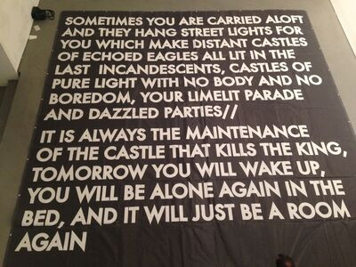 Robert Montgomery, 'Sometimes You Are Carried Aloft (Flag)'