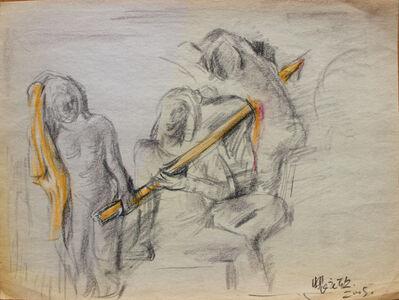 Pei Zhuangxin, 'Sketch ⼿稿《南亞的傳說》', 2005