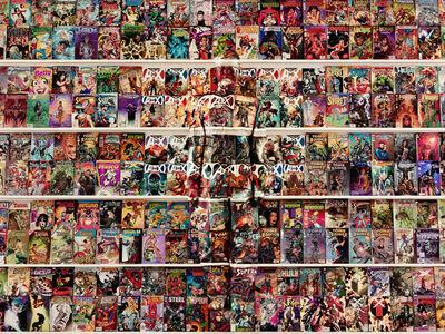 Liu Bolin, 'Hiding in Venezuela – Comic Book', 2013