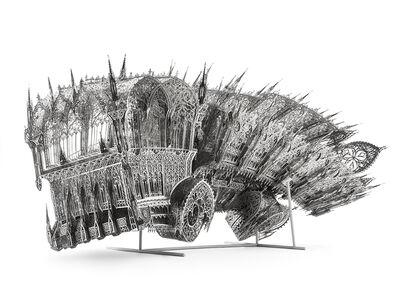 Wim Delvoye, 'Twisted Dumptruck (CCW)', 2013