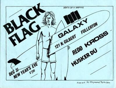 Raymond Pettibon, 'Vintage Original Raymond Pettibon Punk flyer (Raymond Pettibon Black Flag) ', 1982