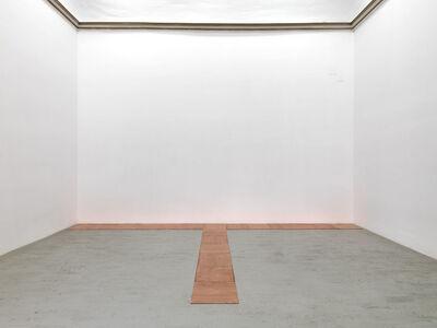 Carl Andre, '13 copper triode ', 1975