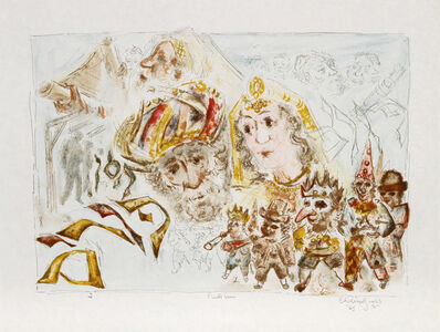 Chaim Gross, 'The Jewish Holidays. A Suite of Eleven Original Lithographs by Chaim Gross', 1968
