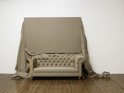 Analia Saban, 'Claim (from Chesterfield Sofa)', 2014
