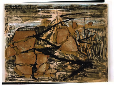 Anselm Kiefer, 'Waterloo', 1982