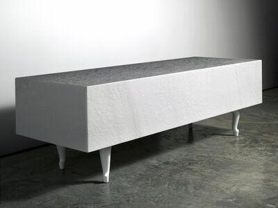 Marcel Wanders, 'Pizzo Carrara Bench', 2011