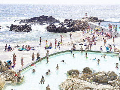 Massimo Vitali, 'Piscina das Mares Left, Portugal', 2016
