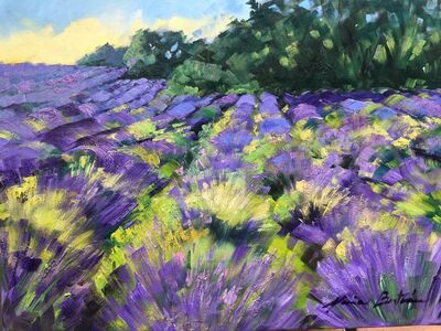 Maria Bertrán, 'Lavender in the Morning', 2018