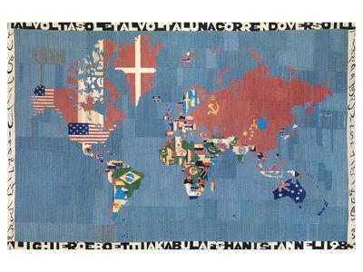 Alighiero Boetti, 'Mappa', 1983
