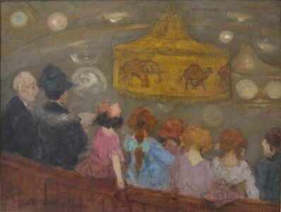Jerome Myers, 'Circus Prelude', 1923