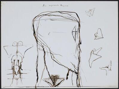 Walter Pichler, 'Der sogenannte ... (Schmetterling)', ca. 1960